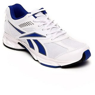 Reebok White Blue Shoes