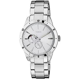 Timex Analogue Silver Dial Men Watch (TW000Z102)