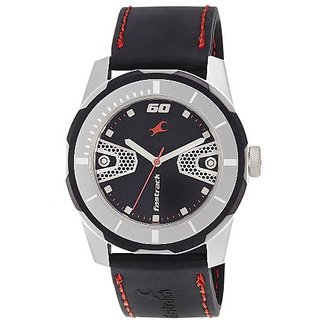 Fastrack Economy 2013 Analog Black Dial Mens Watch - 3099SP04