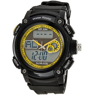 Sonata Ocean Series Analog-Digital Multi-Color Dial Mens Watch - NE7989PP02J
