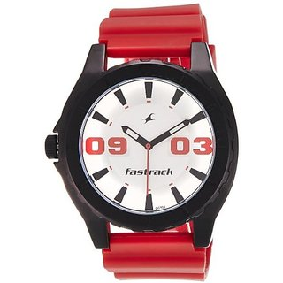 Fastrack OTS Sports Analog White Dial Mens Watch - NE9462AP02J