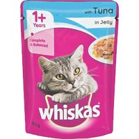 Whiskas Wet Meal (Adult - Cat Food) Tuna In Jelly, 85 Gm Pouch