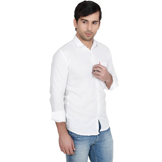Knight Riders White Casual Shirt for Men: Buy Knight Riders White ...