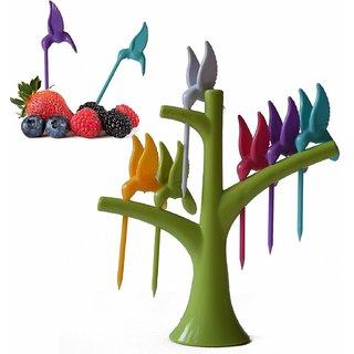 Ankur Birdie Fruit Fork 6Pcs