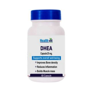 Healthvit DHEA 25mg Support Overall well-being 60 Capsule