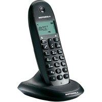 MOTOROLA C1001LI CORDLESS PHONE - BLACK