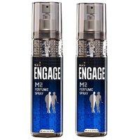 Engage Men Perfume Spray - M2 (120ml) (Pack of 2)