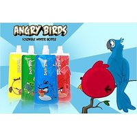 Angry Bird Collapsible Water Bottle - Set Of 2