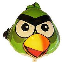 "Angry Bird Foil Balloon 18"" (Green)"