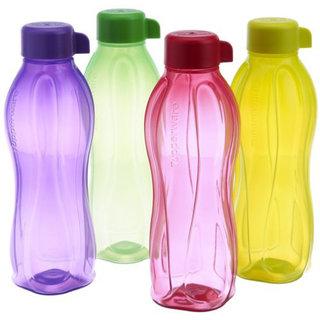 Tupperware Aquasafe Bottle 1 Ltr. 4pcs set