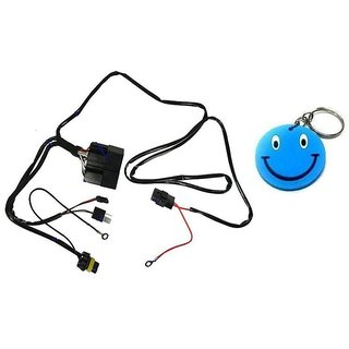 hid special wiring harness motorbike 1 pc with free smiley key chain