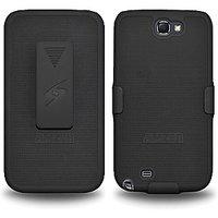 Amzer 94947 Shellster™ - Black For Samsung Galaxy Note II GT-N7100