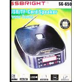 SSBRIGHT(R)  PORTABLE MP3 CUM FM PLAYER WITH INBUILT SPEAKERS