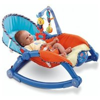 The Flyer's Bay Newborn To Toddler Portable Rocker