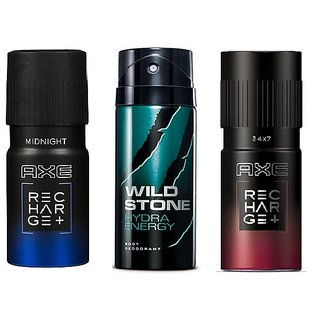 Axe Deodorant With Wildstone For Men (Set of 2) 100ml