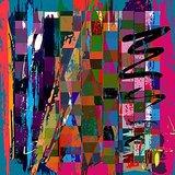 Wall Decor Digital Multi Color Abstract Art Printed Canvas