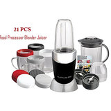 21 Pcs Food Processor,Magic Bullet Juicer Mixer