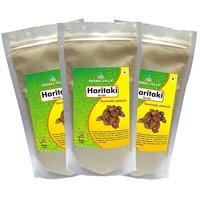 Herbal Hills Haritaki Powder  - 300 G Pack Of 3