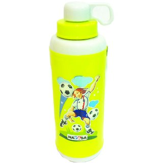 The Greens insulated 560 ml Sports water Bottle brand Nayasa (Green)
