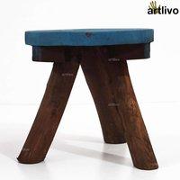 ARTLIVO POPART Tri Stool Blue SE016