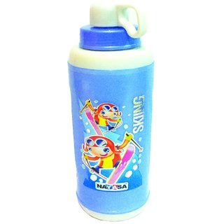 The Greens insulated 560 ml Sports water Bottle brand Nayasa (Blue)