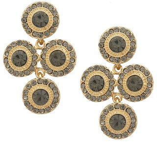 Tipsyfly Gold Alloy Gold Plated Drops For Womens
