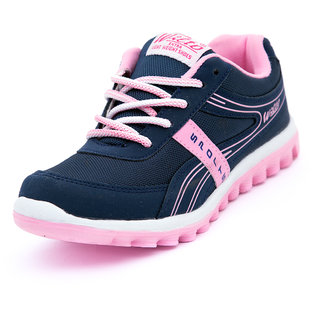 asian navy and pink lace up sports shoes buy asian
