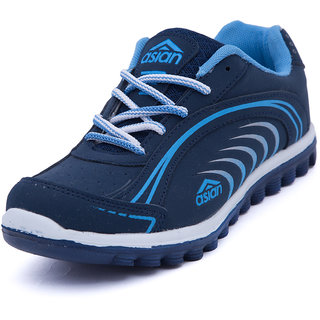 6ba83dd664a7 Asian Womens Navy Sky Blue Sports Shoes available at ShopClues for Rs.449