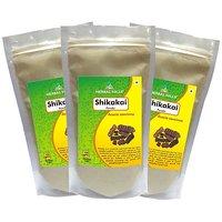 Herbal Hills Shikakai Powder  - 300 g Pack Of 3