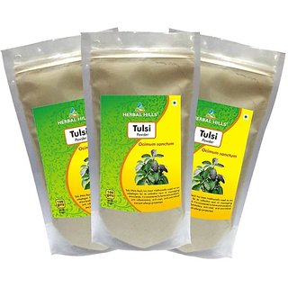 Herbal Hills Tulsi Powder - 300 g Pack Of 3