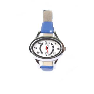 Fidato Women's Blue Strap Watch