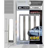 Black Label Car Door Scratch Guard  (White Colour)