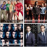 10 Am Tv Show (1) Coaster (set Of 4 - Acrylic)
