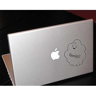 Adventure Time Lumpy Space Princess LSP Macbook Car Tablet Art - Black Vinyl Decal for 13  Macbook