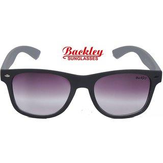 Backley BS-1922 Black Pink Wayfarer Unisex Sunglasses