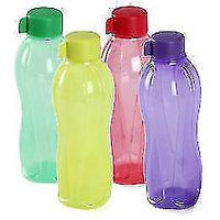 Tupperware Water Bottle Aquasafe 1 Litre 1000ml 2 Piece