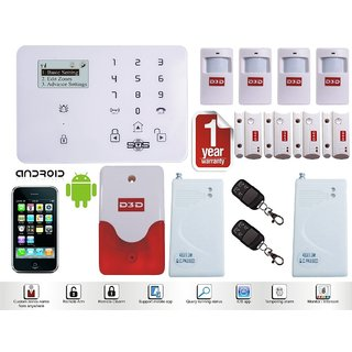 Security Wireless Home House Burglar Intruder Alarm System Infrared Detector Vibration Sensor