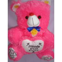 Teddy Bear With Heart, Valentine Day,child,love Diwali Gift, Soft Toys, PINK