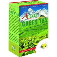 Nepal No. 1 Brand ACCOL Organic Green Tea Leaf 100 Gm