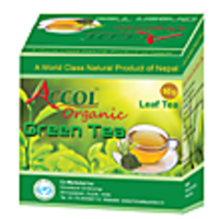 Nepal No. 1 Brand ACCOL Organic Green Tea Bag 20 Gm
