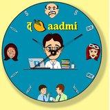 Wall Clock The Aam Aadmi (The Corporate Man)