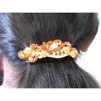 Orange Stone New Fashion Hair Clip