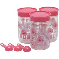 Retro Max Containers 500 Ml Set Of 3 Pink