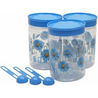 Retro Max Containers 500 Ml Set Of 3 Blue