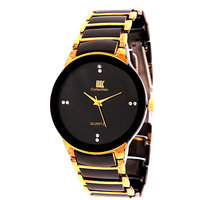 iik Gold-Black watches for men by japan