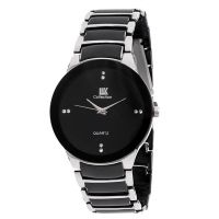 IIK Men Silver  Black Metal Casual Watches by miss