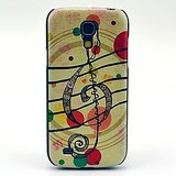 Music Bubble Pattern Hard Back Cover Case for Samsung Galaxy S4 Mini I9190