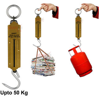 CM Handy Suspension Weighing Scale Machine   Upto 50 Kg Capacity available at ShopClues for Rs.159