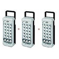 3 Pcs Set Of Branded Led Emergency Light