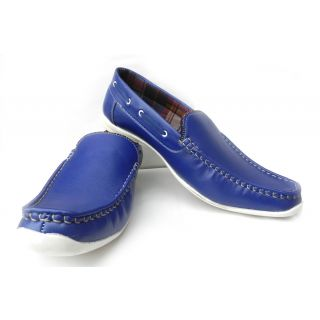 Men's Stylish Loafer Blue Shoes